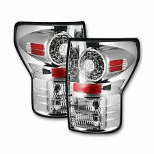 RECON 264188CL Toyota Tundra 2007-2013 Clear-Red Tail Lights LED