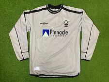 Nottingham Forest 1999 Vintage Football Goalkeeper Jersey Pinnacle Shirt - Small