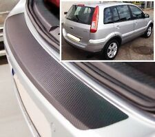Ford Fusion Estate - Carbon Style rear Bumper Protector