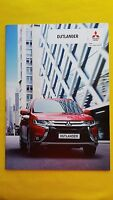 Mitsubishi Outlander GX2 paper brochure sales catalogue January 2016 MINT GX 3 4