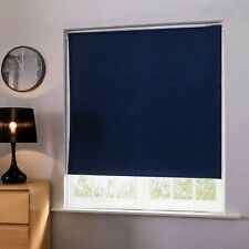 Easy Fit Noise Reducing 100 Thermal Blackout Roller Blind Blinds Home...