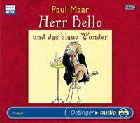 PAUL MAAR - HERR BELLO UND DAS BLAUE WUNDER  2 CD NEW