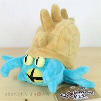 Pokemon Center Original Pokemon fit Mini Plush #139 Omastar doll Toy Japan