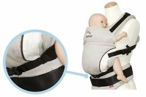 Manduca Size It Sitzverkleinerer für Babytrage in schwarz oder grau