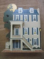 1995 Shelia Wooden 3D Replica of the HAUNTED Gaffos House in Portsmouth, VA