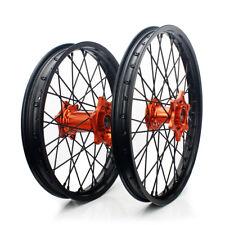"21"" & 18"" MX Front Rear Wheels Hubs Rims Set for KTM 150 200 250-530 SX EXC SXF"