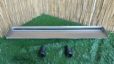 800mm Stainless Steel Waterfall WATER BLADE Cascade Koi Fish Pond  BACK INLET