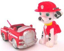 MARSHALL & FIRE TRUCK Figure Set PAW PATROL DOG Nickelodeon PVC TOY Cake Topper!