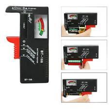 AA AAA C D 9V Universal Battery Volt Checker Tester Button Cell Batteries CN New