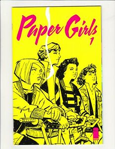 PAPER GIRLS #1 IMAGE 2015 BRIAN K VAUGHAN CHIANG 1ST APPEARANCE AMAZON PRIME KEY