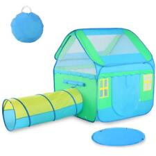 Large Kids Play Tent Children Pop-Up Playhouse Tent Tunnel Toys Outdoor Indoor