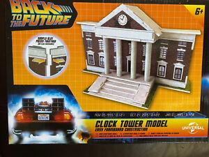 Back to the Future  Clock Tower Foamboard Model Kit