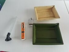Various lot photograph developing photography vintage plastic eye dropper clip