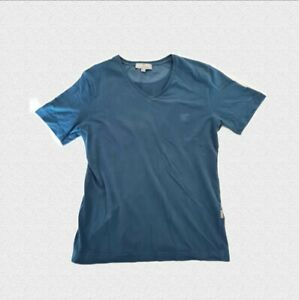 CANALI T-Shirt V-Neck Men's Blue - 48 - Used In Great Condition