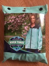 Frogg Toggs Women's River Toadz Pack Jacket Outerwear Seafoam/Gray