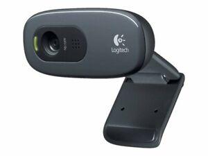 Logitech Webcam C270, 3 MP, 1280 x 720 Pixel, 720p, USB 2.0, Nero, Clip