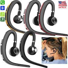 Ear Hook Bluetooth Headset Stereo Headphone For Mobile Phones Samsung LG G6 G7