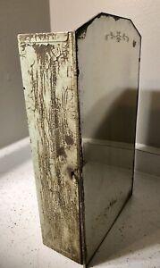 Metal Mirror Antique /  Vintage Medicine Cabinet
