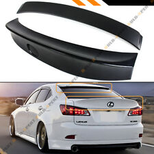 FOR 06-13 LEXUS IS250 IS350 ISF WA DUCKBILL TRUNK LID + REAR WINDOW ROOF SPOILER