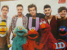 One Direction, Zendaya, Double Full Page Pinup