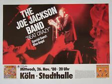 Joe Jackson Band BEAT CRAZY - Original Konzertplakat 1980 DIN A1 (gerollt)