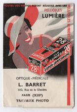PHOTO Film Lumière Luminochrome 26° Pellicules L. Barret Paris Travaux Pochette
