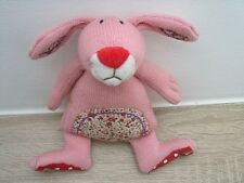 Die SPIEGELBURG Hase Strick  rosa ca 20 cm Kuscheltier Stofftier unbenutzt