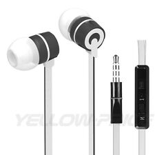 3.5mm Mic Stereo Earphone Headphone Headset for iphone 6 5 ipod Samsung HTC LG