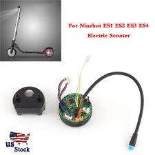 Black Original circuit board Dashboard For Ninebot ES2 ES4 Foldable Scooter USA