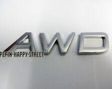 NEW Chrome AWD volvo badge