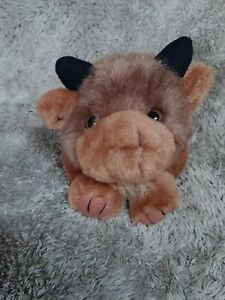 Swibco Puffkins Biff Buffalo Bison Stuffed Plush