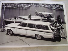 1963 FORD FAIRLANE STATION WAGON   11 X 17  PHOTO  PICTURE