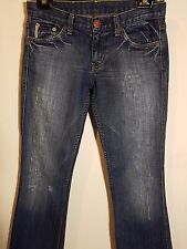 """WOMEN'S ARMANI EXCHANGE DISTRESSED STRETCH JEANS MADE IN USA SIZE 9/27"""""""
