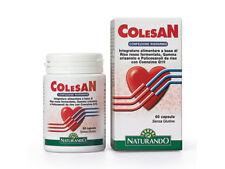 Colesan 60 Capsule Integratore per Diminuire Colesterolo - Con Coenzima Q10