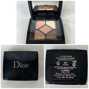 Dior 5 Couleurs Couture Eyeshadow Palette 647 Undress Sample Size NEW France .07
