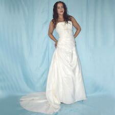 Cola En sin Tirantes Vestido de Novia XS (34) Estilo Campana Vestido de Baile