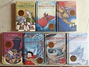 HARRY POTTER 1/7 - EDIZIONE 20 anni di magia BOLLINO ORO - SAGA COMPLETA