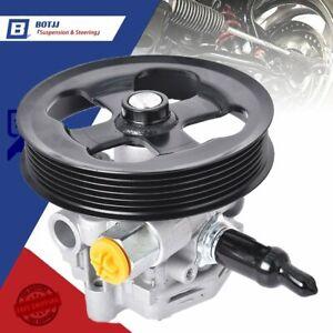 Power Steering Pump W/Pulle For 07-15 Chrysler 200 Sebring Dodge Avenger Journey
