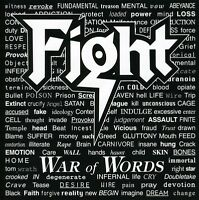 Fight, The Fight - War of Words [New CD]