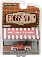 GREENLIGHT THE HOBBY SHOP 1956 FORD F-100 TRUCK w DROP IN TOW HOOK 1/64 97010 A