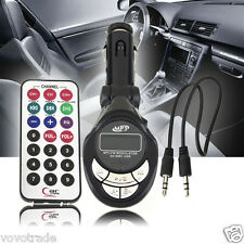 Car USB 4in1 FM Transmitter MP3 Player Pipa Wireless  MMC Remote CONTROL