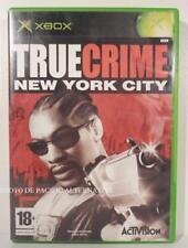 jeu TRUE CRIME NEW YORK CITY pour XBOX (first gen) en francais spiel COMPLET