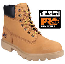 NEW MENS TIMBERLAND PRO SAFETY NUBUCK HIKER BOOTS WORK ANKLE STEEL TOE CAP SHOES