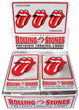 ROLLING STONES TRADING CARDS FACTORY SEALED BOX STICKERS GUITAR PICKS TATTOOS
