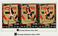 2012 AFL Teamcoach Trading Cards Prize Team set St. Kilda (3)