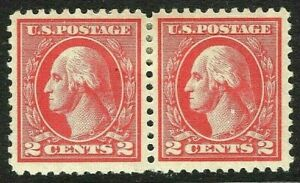 [SD]   US #528 ~ Mint-OG 1920  2c Type Va Perf 11 Offset Press Printing Pair