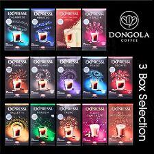 3 BOX (48) Expressi K-fee Automatic Coffee Machine Capsules Pods ALDI You Choose