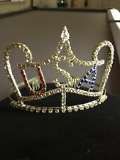 U.S.A. Rhinestone Pageant Tiara Very Pretty!!