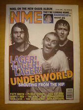 NME 1996 JULY 13 UNDERWORLD OASIS RADIOHEAD WHO LEVELLER