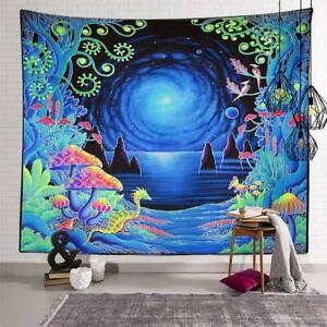 Bohemian Mandala Tapestry Hippie Art Wall Hanging Bedspread Throw Cover Decor UK